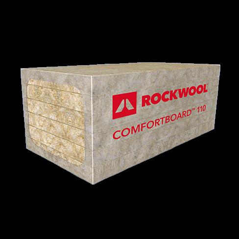 Rockwool Roxul Comfortboard 110 Mineral Wool Insulation Board