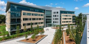 Wyman St development Waltham MA rendering