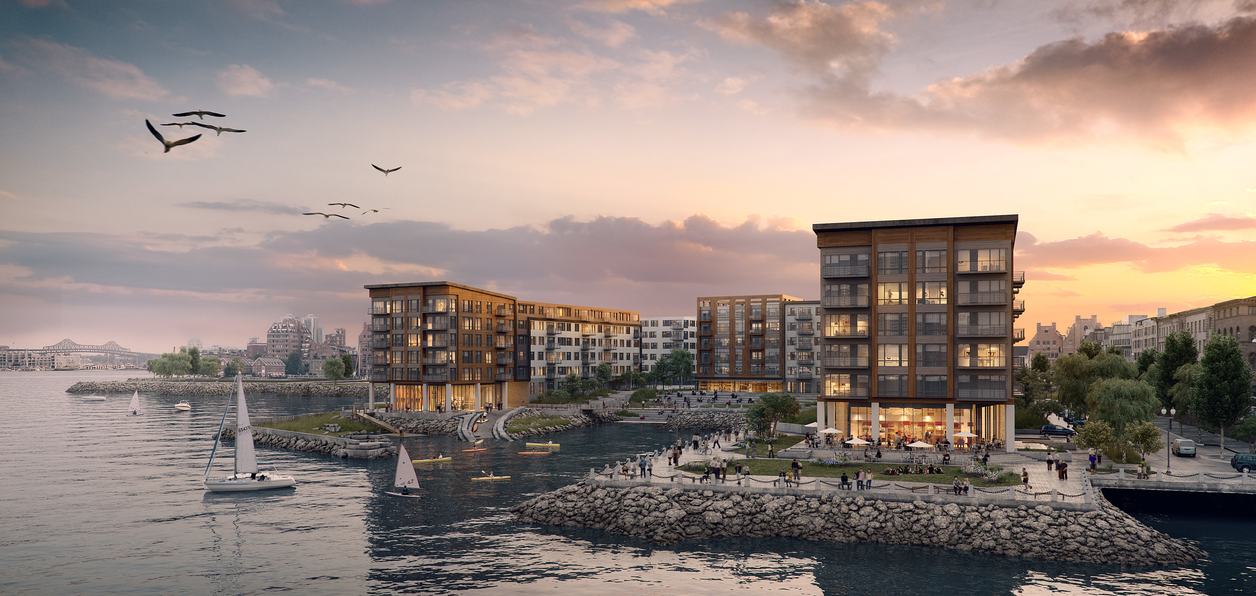 Clippership project rendering - Boston, MA