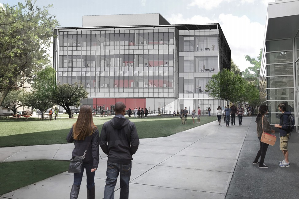 Wentworth Multipurpose Academic Building Rendering - Boston MA